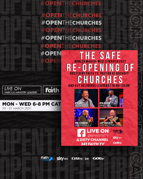 Open the Churches LIVE